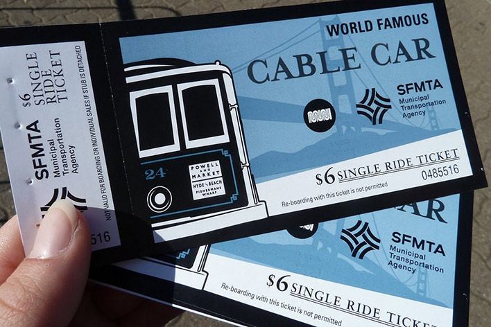 Ticket Cable Car